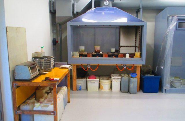 貴金属分析室